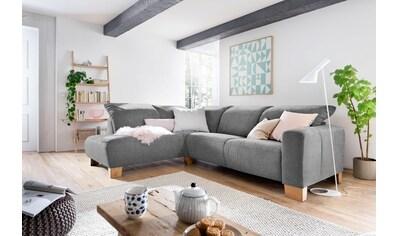 Home affaire Ecksofa »Hörnum«, wahlweise mit motorischer Relaxfunktion, mit... kaufen