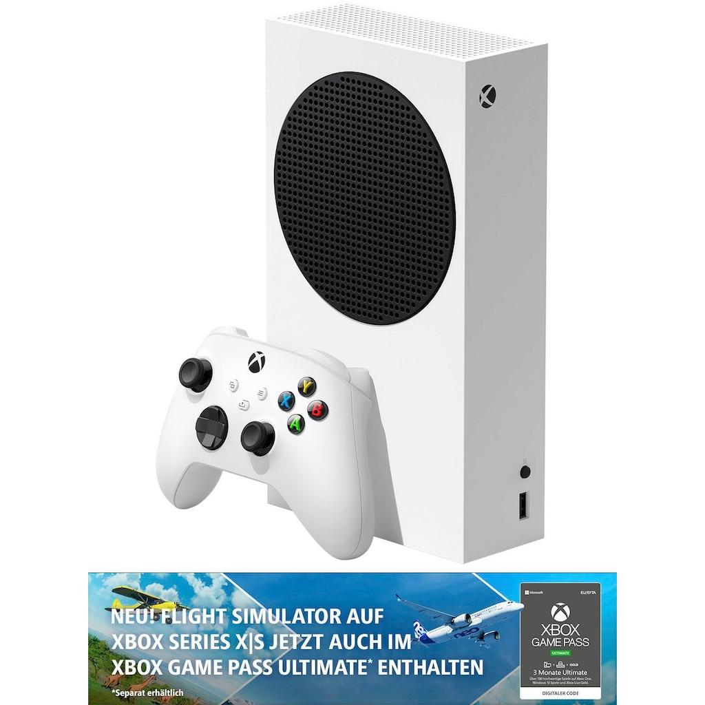 Xbox Konsole »Series S«, inkl. 2. Controller - Aqua Shift
