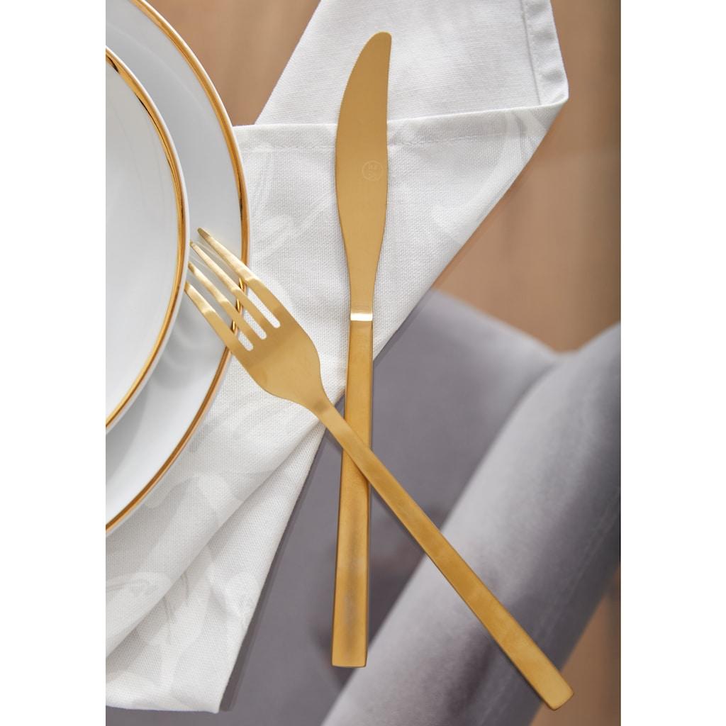 Guido Maria Kretschmer Home&Living Kaffeeservice »Golden Line«, (Set, 18 tlg.), handbemalter Goldrand
