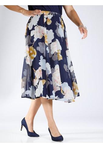 m. collection Schlupfrock, mit hübschem Blumendruck kaufen