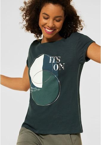 STREET ONE T-Shirt, mit Frontprint kaufen