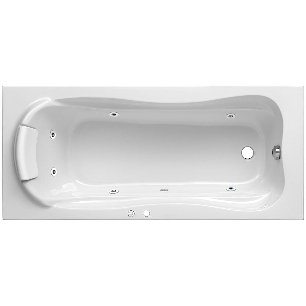 OTTOFOND Whirlpool-Badewanne »Jamaica«, Typ 1, chrom