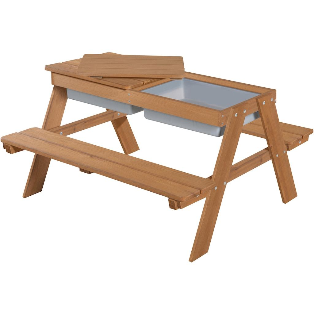 roba® Kindersitzgruppe »Outdoor Deluxe mit Spielwannenm Teakholz« (Set, 1-tlg)