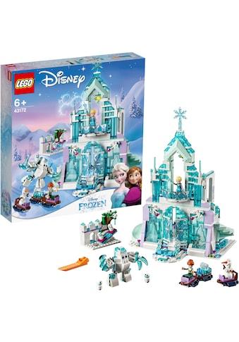 """LEGO® Konstruktionsspielsteine """"Elsas magischer Eispalast (43172), LEGO® Disney"""", (701 - tlg.) kaufen"""