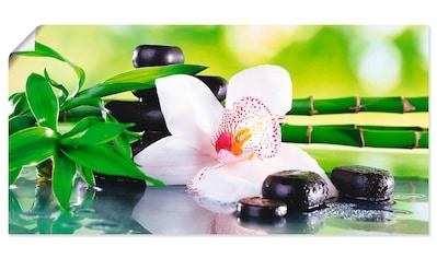 Artland Wandbild »Spa Steine Bambus Zweige Orchidee«, Zen, (1 St.) kaufen