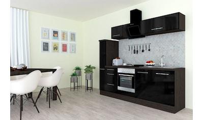 RESPEKTA Küchenzeile »RP240«, mit E-Geräten, Breite 240 cm kaufen