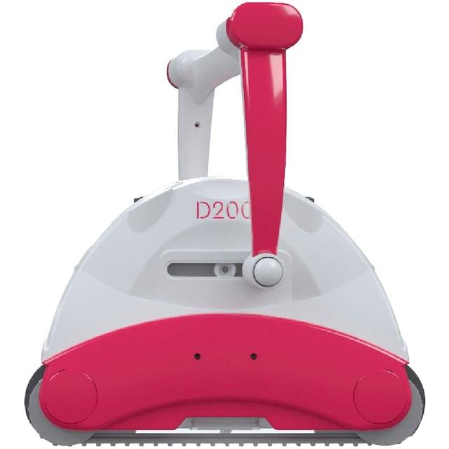 BWT - Best Water Technology Poolroboter »D200«, Boden- und Wandreinigung von Pools bis 90 m², inkl. Caddy