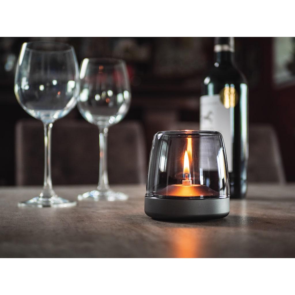 kooduu Windlicht »Glow 10«, Luxuswindlicht, aus Aluminium und Glas
