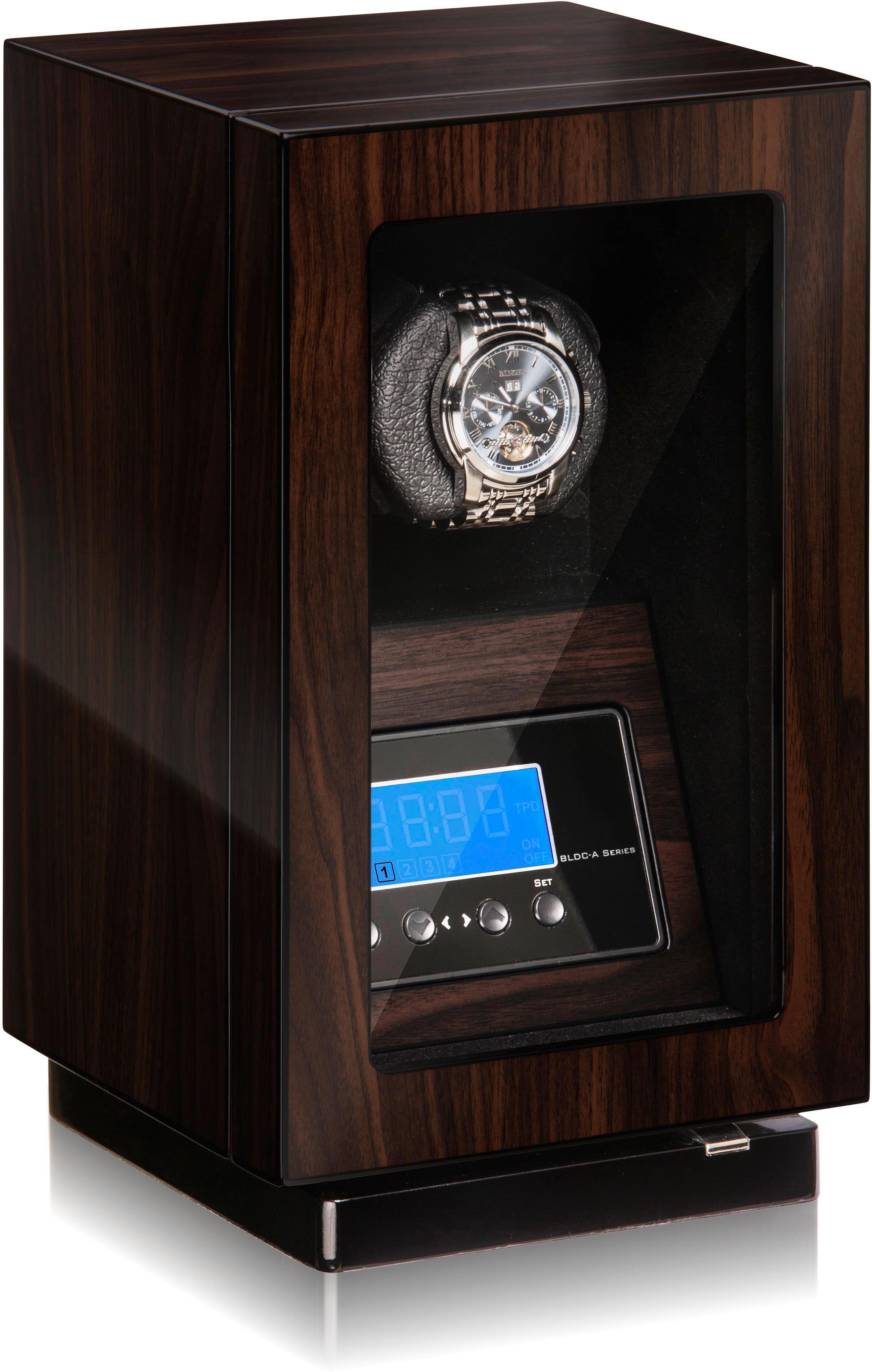 Boxy Uhrenbeweger Boxy BLDC für 1 Uhr 309416 | Uhren > Uhrenbeweger | Braun | Boxy