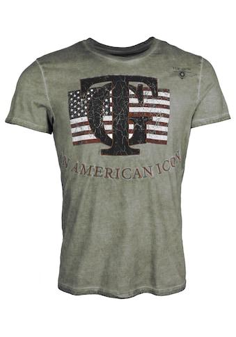 TOP GUN T-Shirt »TG20201113«, sportlicher Schnitt kaufen