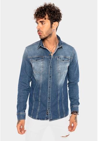 RedBridge Jeanshemd, mit praktischen Brusttaschen kaufen