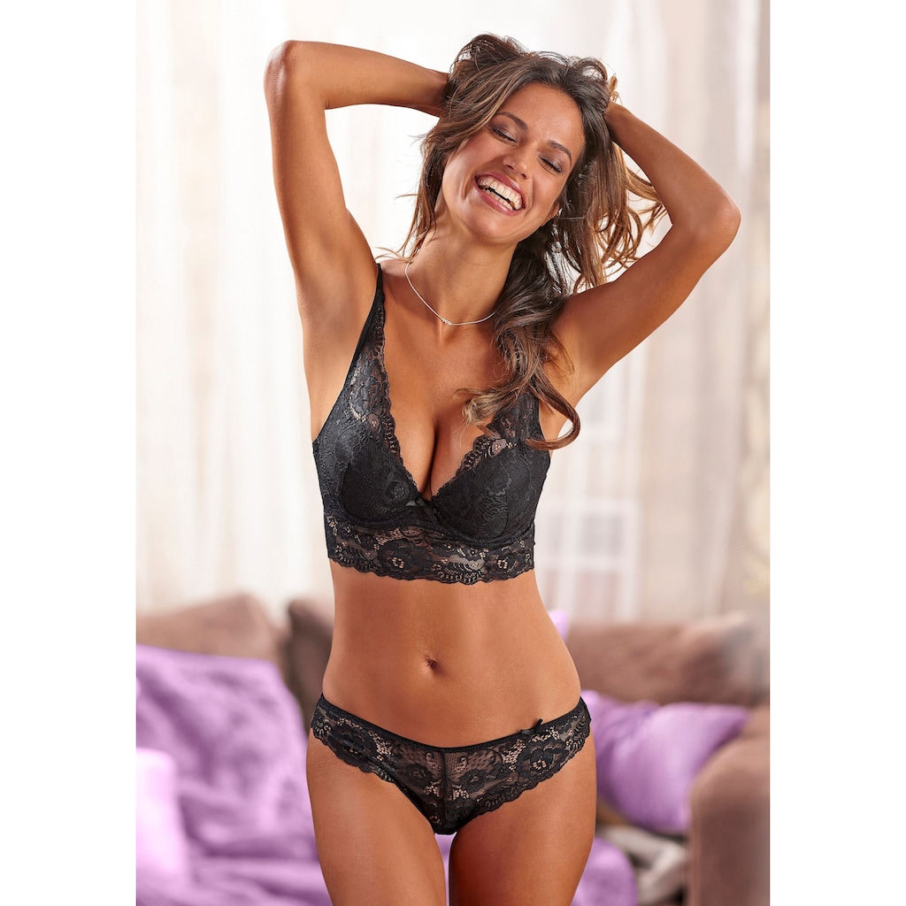 LASCANA Bustier, Push-up-BH