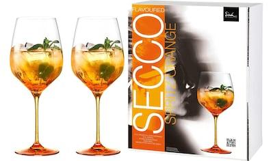 Eisch Aperitifglas »Secco Flavoured Spritz Orange«, (Set, 2 tlg.), Bleifrei, 2-teilig kaufen