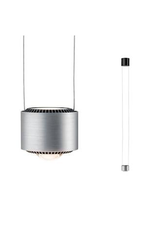 Paulmann LED Pendelleuchte »Aldan 13W Schwarz/Alu gebürstet dimmbar«, 1 St., Warmweiß kaufen