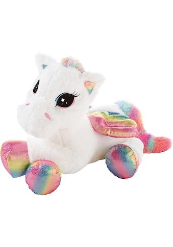 Heunec® Kuscheltier »Pegasus Rainbow XL, 85 cm«, liegend kaufen