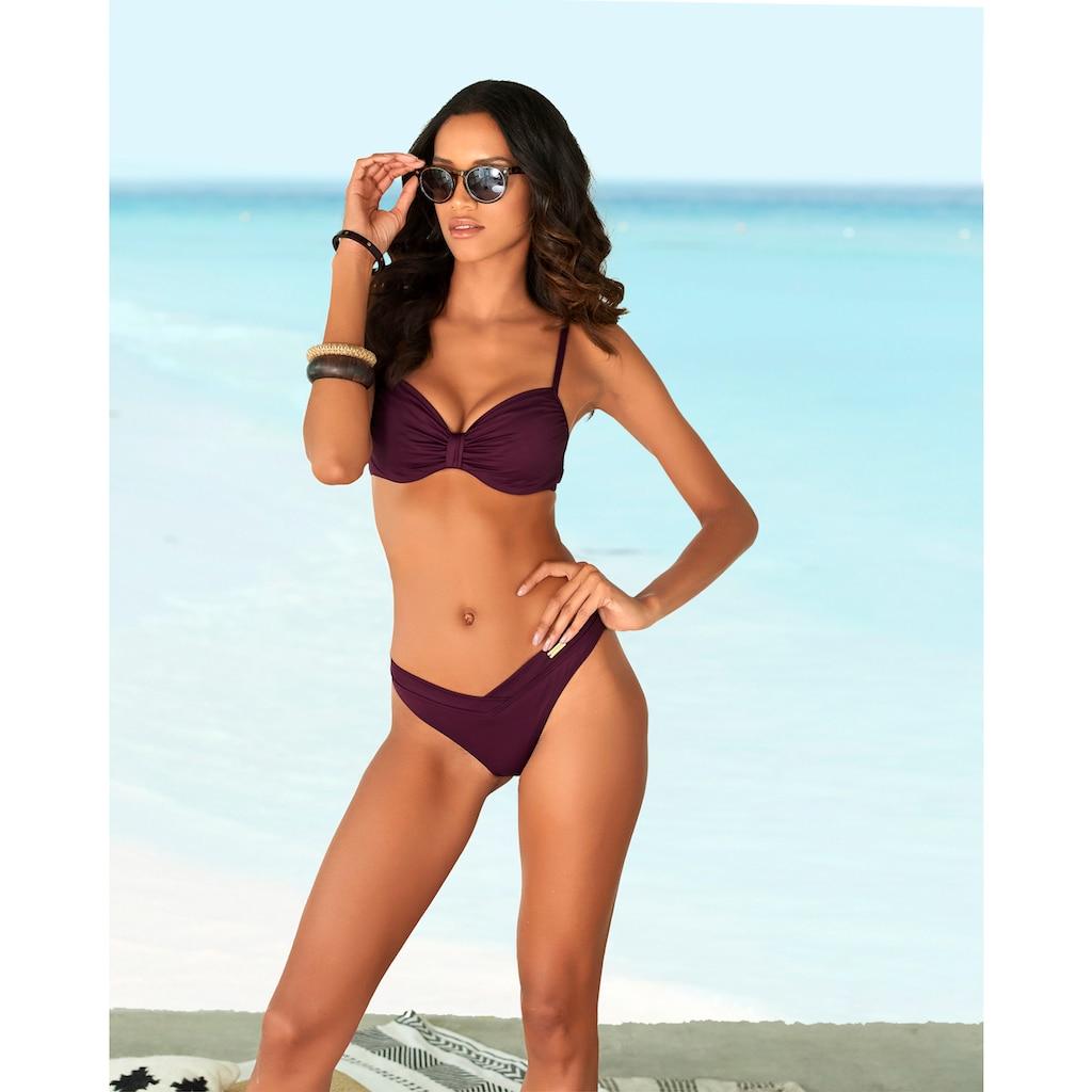 LASCANA Bikini-Hose »Italy«, Hoher Beinausschnitt