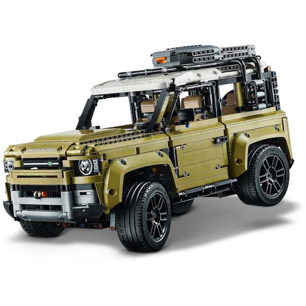 LEGO® Konstruktionsspielsteine »Land Rover Defender (42110), LEGO® Technic«, (2573 St.), Made in Europe