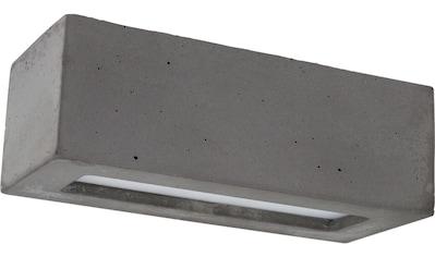 SPOT Light Wandleuchte »BLOCK«, E27, Naturprodukt aus echtem Beton, Handgefertigt,... kaufen