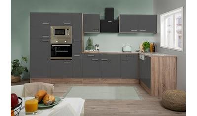 RESPEKTA Winkelküche »York«, mit E-Geräten, Breite 370 x 172 cm kaufen
