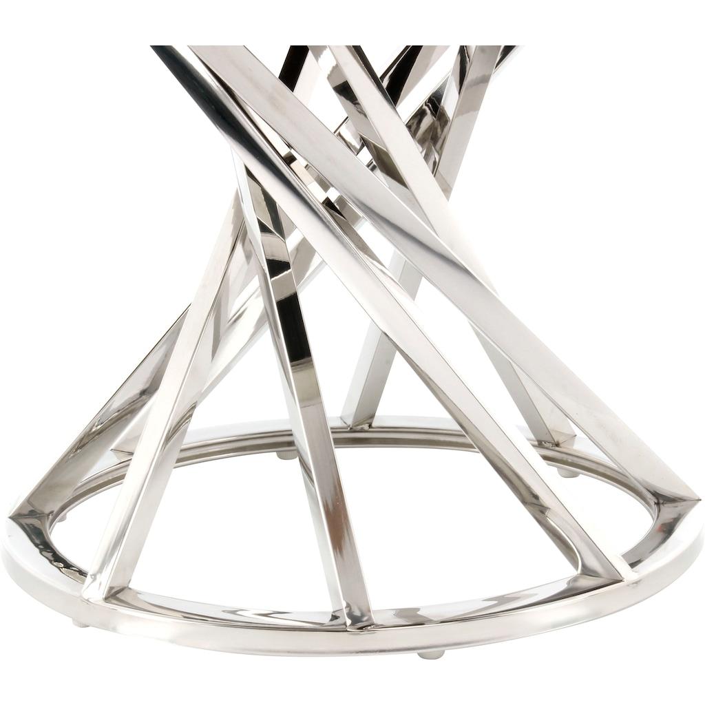 Kayoom Sitzhocker »Wesley 325«, edles Gestell aus Metall