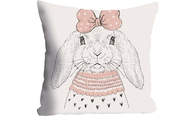 """Kissenhülle """"Hase"""" queence kaufen"""