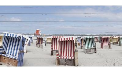 queence Holzbild »Julie«, Strand, (1 St.) kaufen