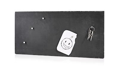 "SÄNGER Magnettafel ""Magnettafel"" (Magnettafel aus Schiefer inkl. Magneten) kaufen"