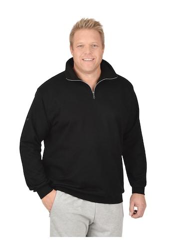 Trigema Sweatshirt mit Reißverschluss kaufen