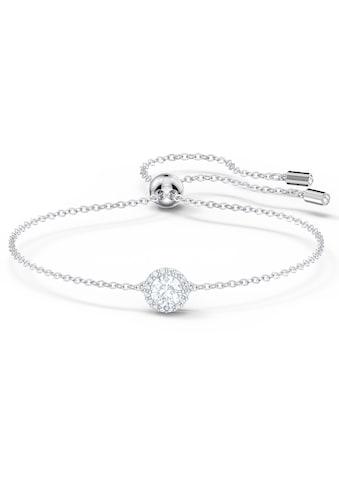 Swarovski Armband »Angelic Round, weiss, rhodiniert, 5567934« kaufen
