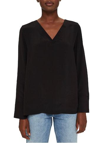 Esprit Collection Shirtbluse, mit tollem V-Ausschnitt kaufen