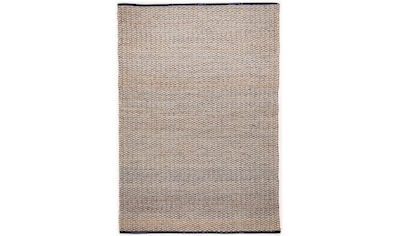 TOM TAILOR Teppich »Braid«, rechteckig, 7 mm Höhe, Flachgewebe, handgewebt, Material:... kaufen