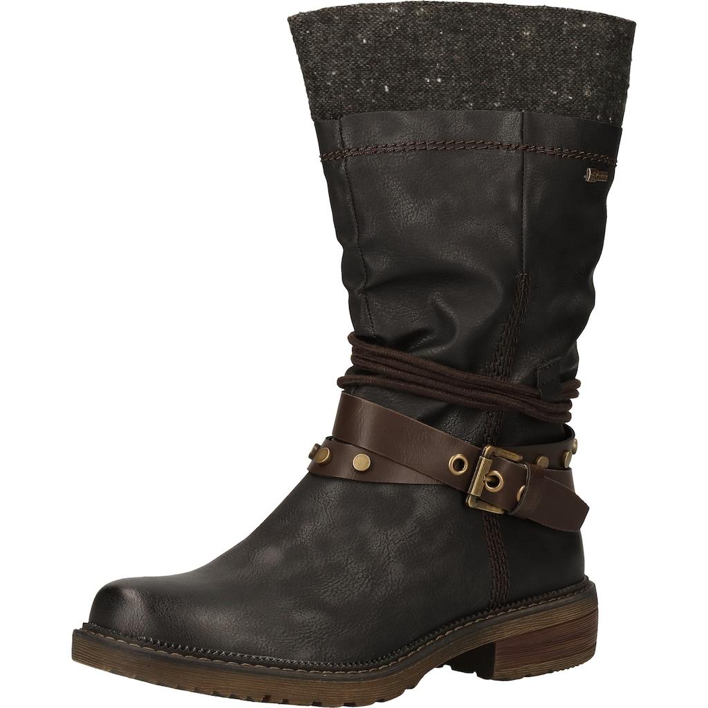 Relife Stiefel »Lederimitat/Textil«
