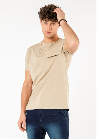 SUBLEVEL Rundhalsshirt, mit Brusttasche kaufen