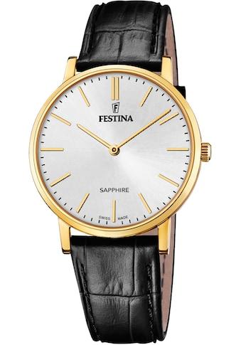 Festina Schweizer Uhr »Festina Swiss Made, F20016/1« kaufen