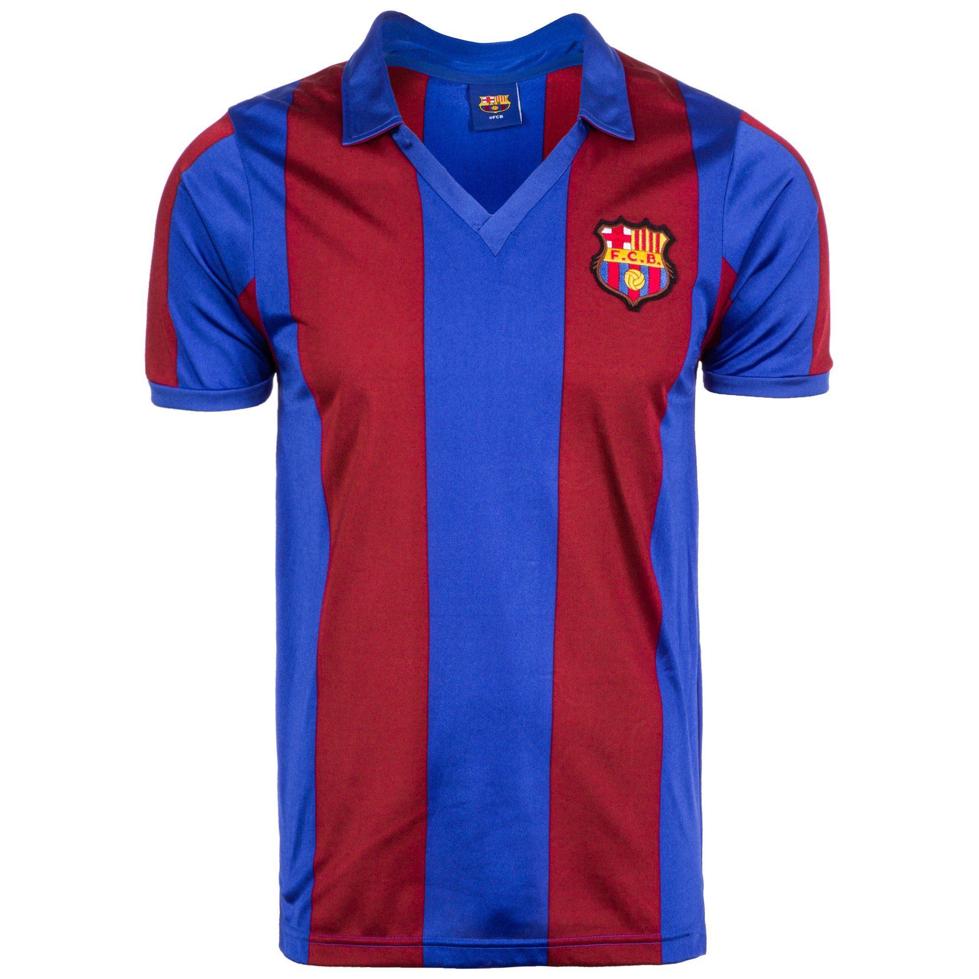 Score Draw Fußballtrikot Fc Barcelona 1982 | Sportbekleidung > Trikots | Rot | Trikot - Cup | Score Draw