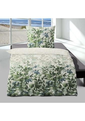 TRAUMSCHLAF Bettwäsche »Lindau grün«, leicht aufgeraute Seersucker Qualität kaufen