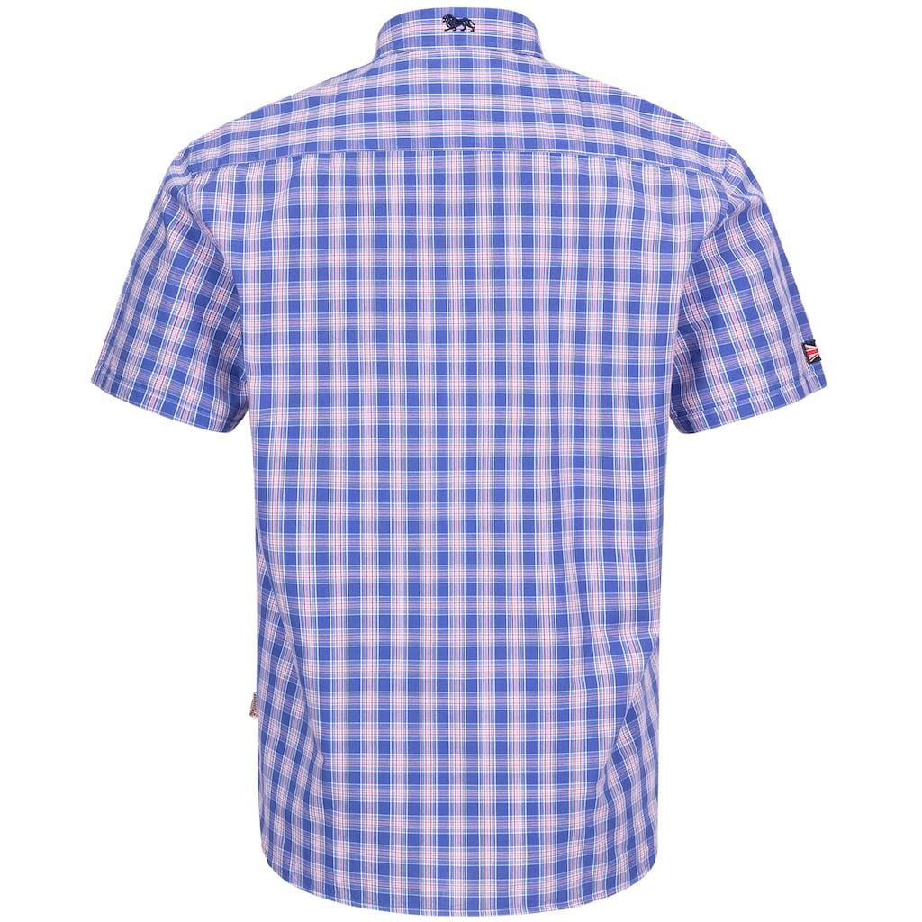 Lonsdale Kurzarmhemd »HOLMBUSCH«, mit schmaler Passform