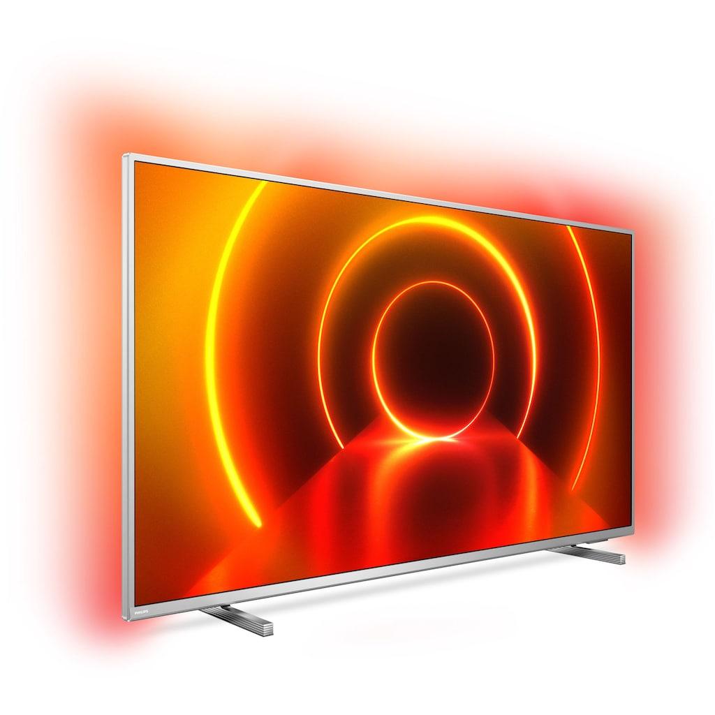 "Philips LED-Fernseher »70PUS8105«, 178 cm/70 "", 4K Ultra HD, Smart-TV, 3-seitiges Ambilght"
