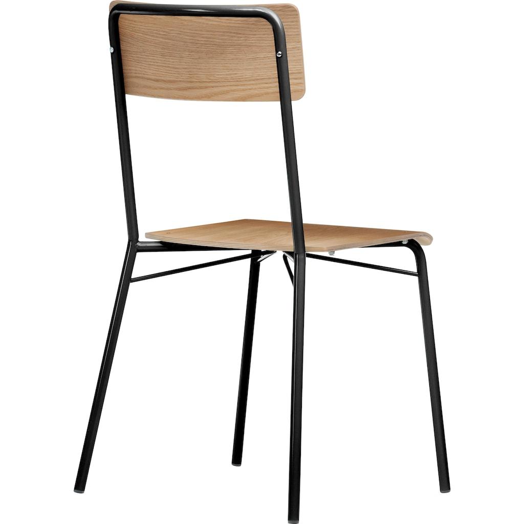 Woodman 4-Fußstuhl »Yorik«, im skandinavian Design
