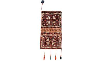 morgenland Wollteppich »Ghashghai Teppich handgeknüpft mehrfarbig«, rechteckig, 18 mm... kaufen