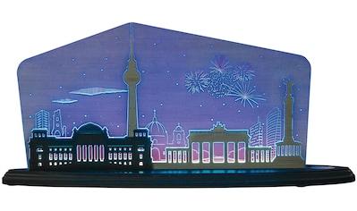Weigla LED Dekolicht »Berlin bei Nacht«, 1 St., Neutralweiß, beidseitiges Motiv/ Motiv... kaufen