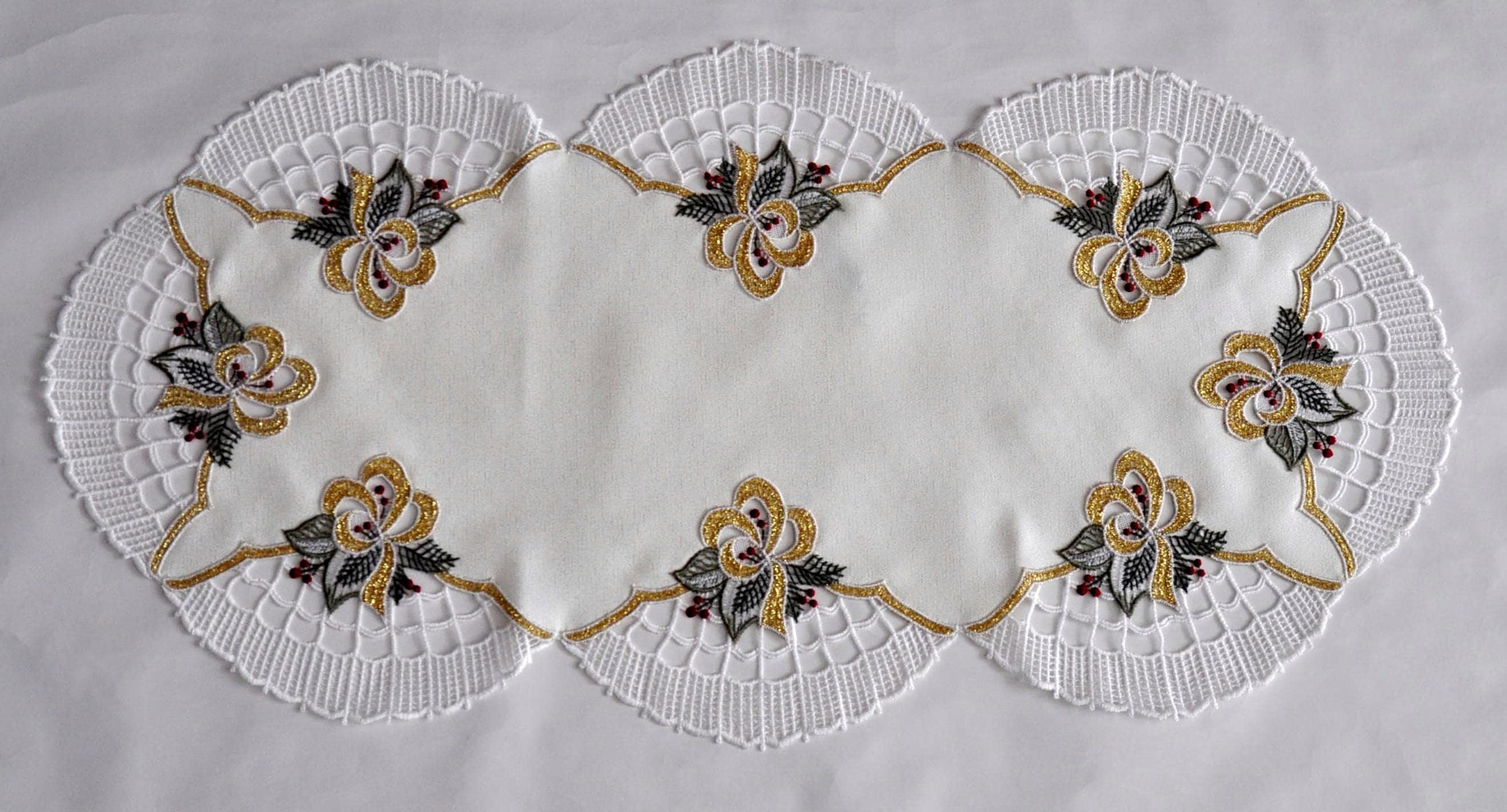 Tischdecke Glockenzauber Stickereien Plauen