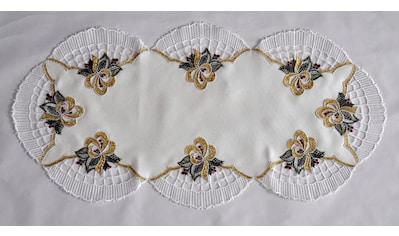Stickereien Plauen Tischdecke »Glockenzauber«, rechteckig kaufen