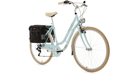 KS Cycling Cityrad »Verona«, 6 Gang Shimano Tourney Schaltwerk, Kettenschaltung (mit Doppeltasche) kaufen