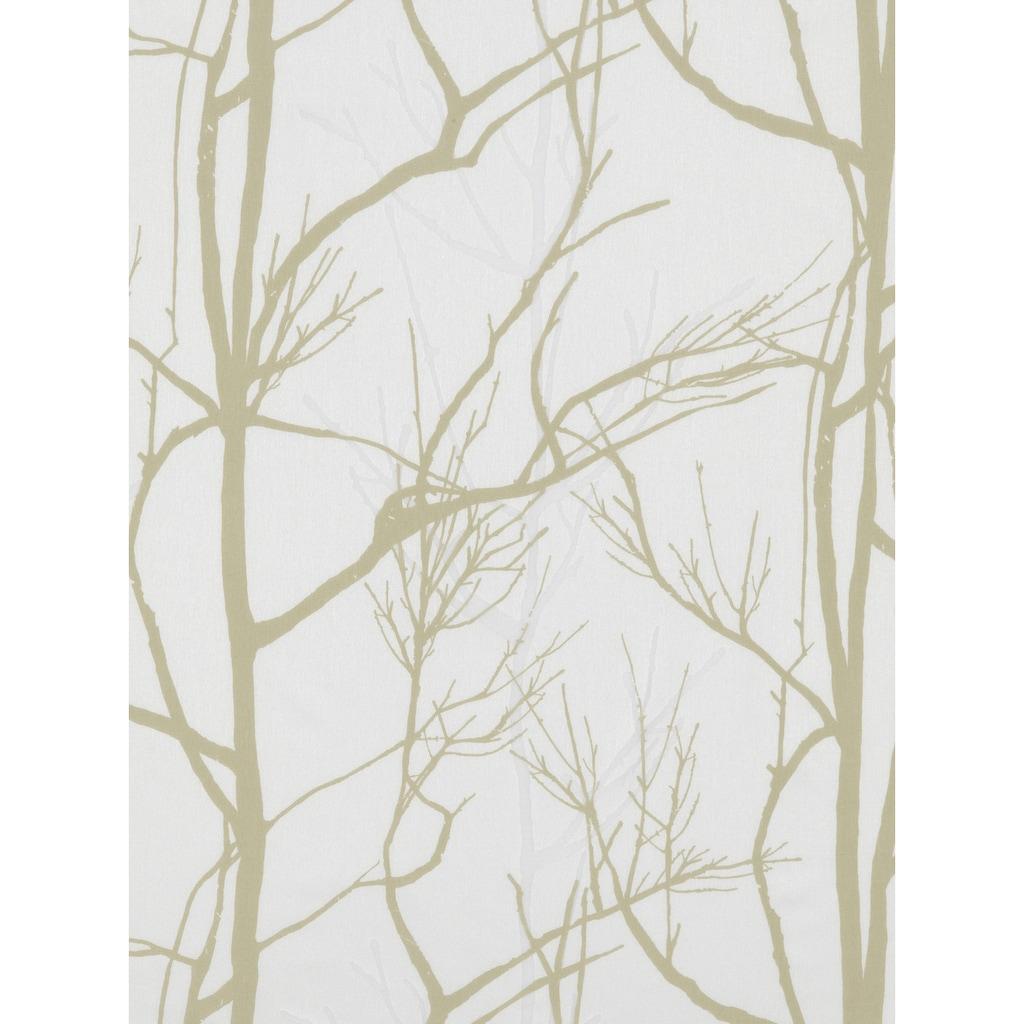 Gardine, »Nature«, Gardisette, Kräuselband 1 Stück