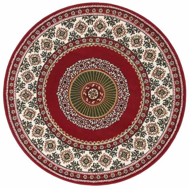 Teppich, »Shari«, DELAVITA, rund, Höhe 7 mm, maschinell gewebt
