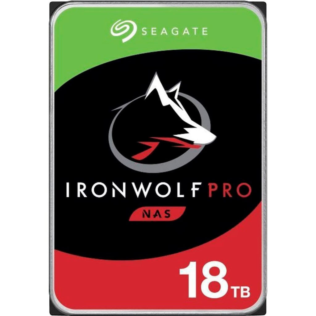 Seagate HDD-Festplatte »IronWolf Pro«, Bulk, inkl. 3 Jahre Rescue Data Recovery Services