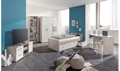 arthur berndt Jugendzimmer-Set »Bente«, (Set, 5 St., Bett + 4 trg. Schrank +... kaufen