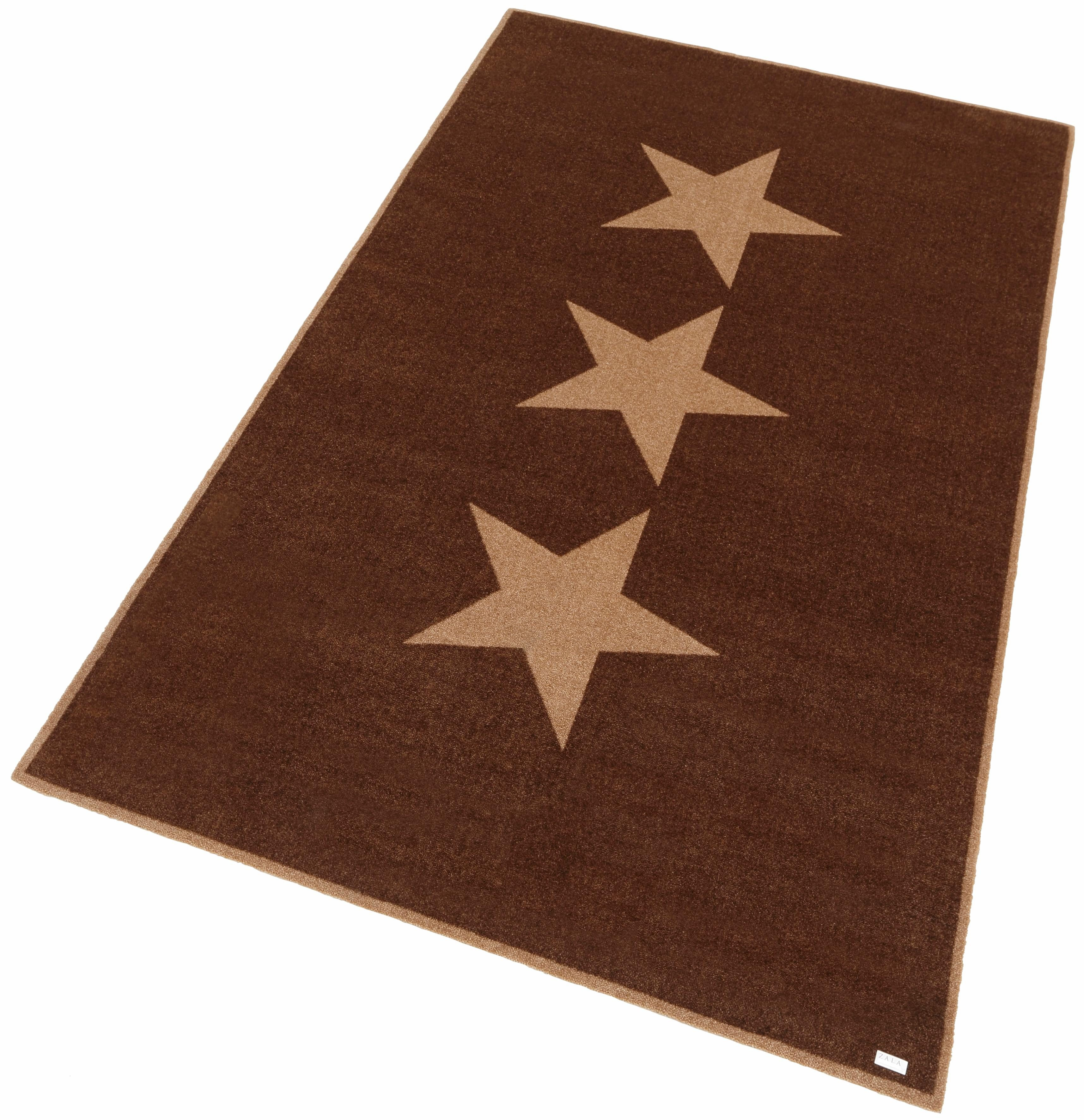 Teppich Sterne Zala Living rechteckig Höhe 7 mm maschinell getuftet