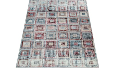 Paco Home Teppich »Zara 221«, rechteckig, 12 mm Höhe, Vintage-Teppich, abstraktes... kaufen